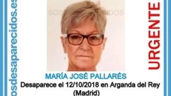 Desaparición María José Pallarés