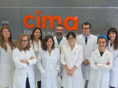 Investigadores del del Programa de Hepatología del CIMA