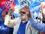 Representantes sindicales de prisiones encadenados frente al Ministerio del Interior