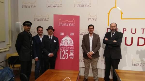 Presentación de los actos por el 125 aniversario del Palacio Provincial