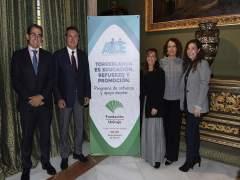 Firma acuerdo entre Fundación Unicaja y la Asociación ADE.