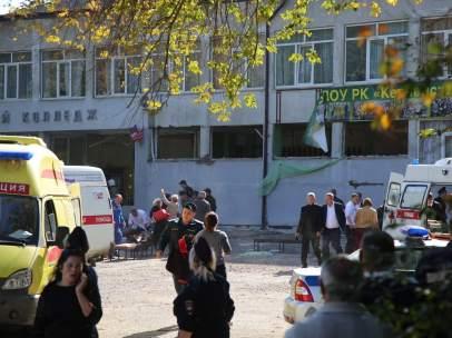Tiroteo en Crimea