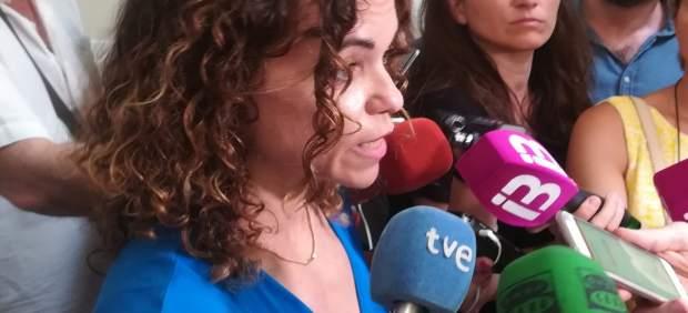Rosario Sánchez agradece el trabajo de las personas que han participado en operativo de búsqueda ...