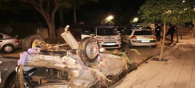 Unos 90 policías locales de Palma han participado de forma voluntaria en labores de tráfico y ...