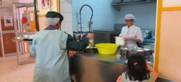 CCOO exige que se estipulen las ratios para el personal de cocina en los colegios públicos aragoneses