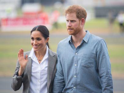 El príncipe Harry y Megan Markle