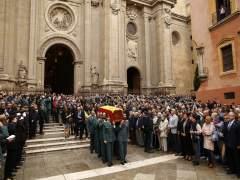 """La hija del Guardia Civil asesinado en Granada: """"No hay nadie más grande que tú"""""""