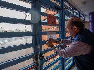 Clases suspendidas en Castellón
