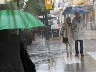 Paraguas en Gandía