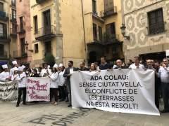El Gremi de Restauració anuncia movilizaciones contra la reducción de terrazas en Ciutat Vella