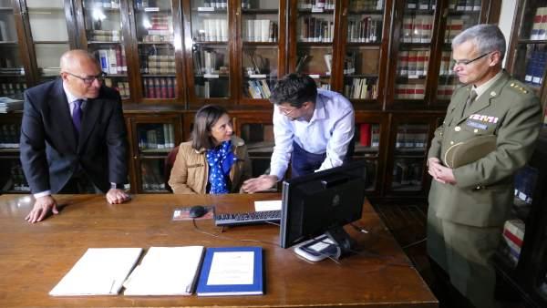 Robles en el Archivo General Militar de Ávila