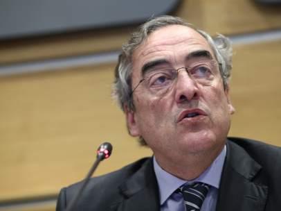 El presidente de CEOE, Juan Rosell.