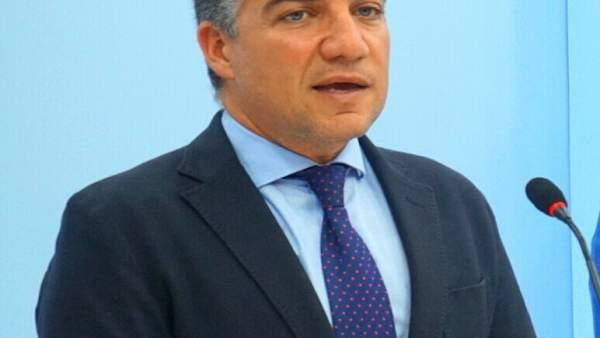 Elías Bendodo, presidente del PP de málaga y portavoz del PP-A
