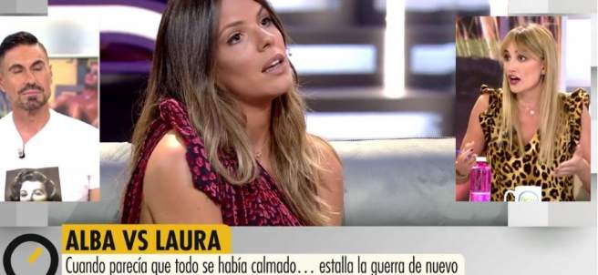 Laura Matamoros y Alba Carrillo