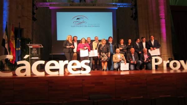 Entrega de los II Premios San Pedro de Alcántara