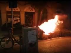 Un detenido en los disturbios por el desalojo de un inmueble 'okupado' en Barcelona