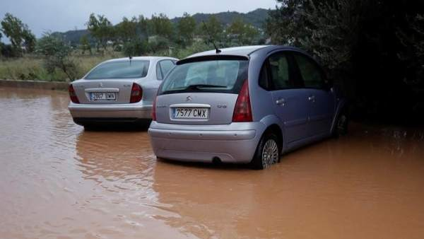 Lluvias en Castellón