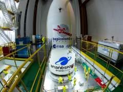 Europa parte hacia Mercurio con la misión BepiColombo