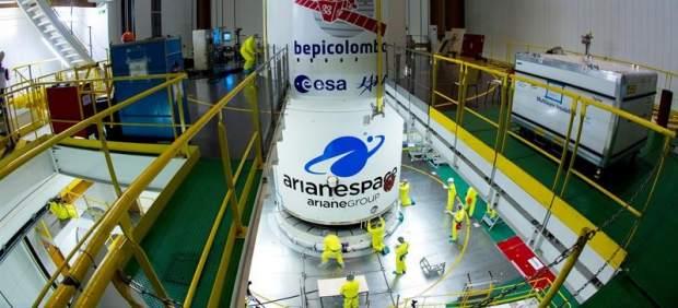 El cohete Ariane 5 parte hacia Mercurio con la misión BepiColombo