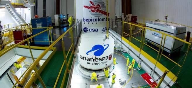 Misión BepiColombo a Mercurio
