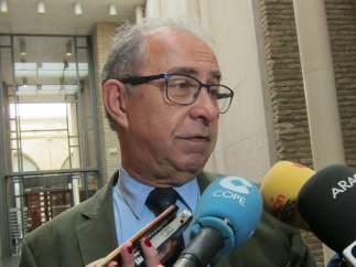 Fernando Gimeno, consejero de Hacienda