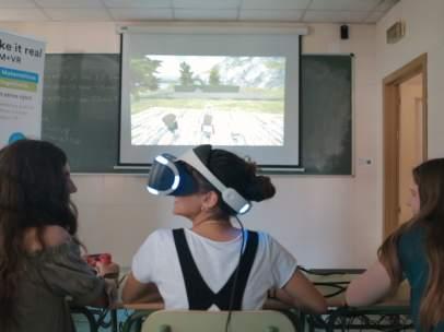 Plataforma virtual STEM + VR