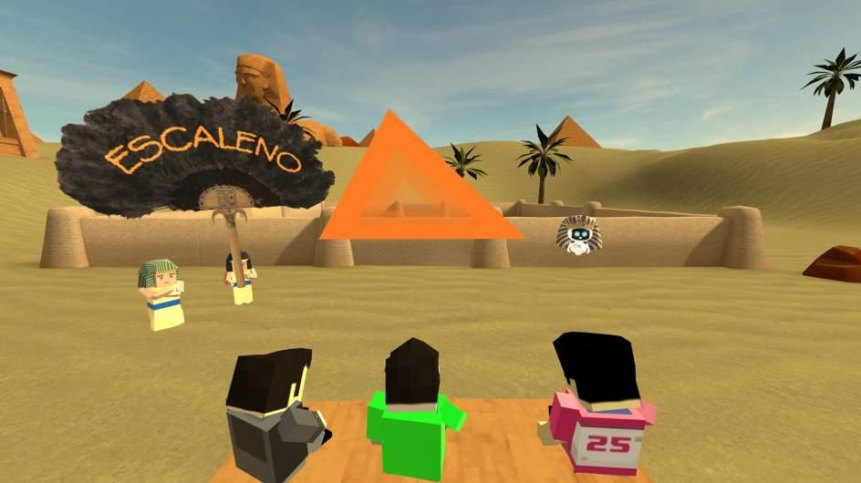 Las gafas de realidad virtual de PlayStation como herramienta educativa para aprender ciencias.