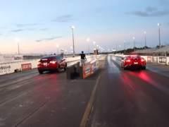 El Tesla Model X P100D se enfrenta al Ferrari 812 Superfast: ¿quién ganará la carrera?