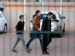 Iglesias ya está en la cárcel para ver a Junqueras: una visita sin cristal ni límite de tiempo