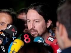 """Pablo Iglesias, tras reunirse con Junqueras: """"Ahora quien tiene que moverse es el Gobierno"""""""