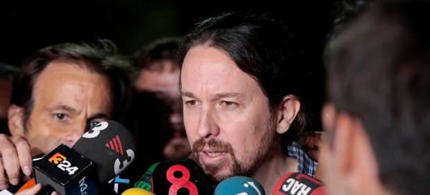 Iglesias, tras reunirse en la cárcel con Junqueras: