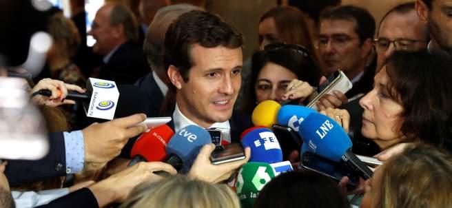 Pablo Casado en los Premios Princesa de Asturias