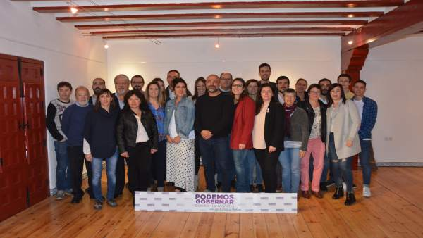 Integrantes de la candidatura 'Podemos Gobernar C-LM'
