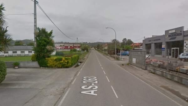 Carretera general AS 263