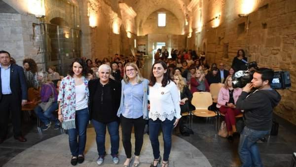 Elsa Artadi en el Consell Nacional de les Dones de Catalunya