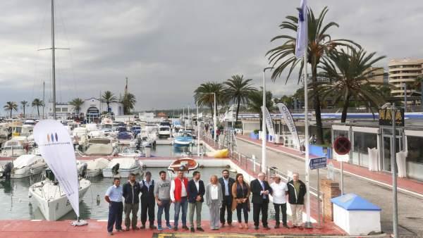Entrega de la 'Q de Calidad' en el puerto deportivo