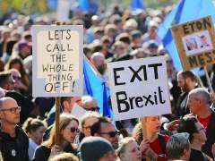 Londres acoge la mayor protesta hasta la fecha contra el 'brexit' y por un nuevo referéndum