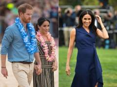 Meghan Markle luce embarazo durante su visita a Australia