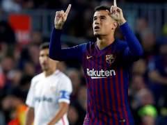 El Barça golea al Sevilla y se pone líder a una semana de recibir al Madrid