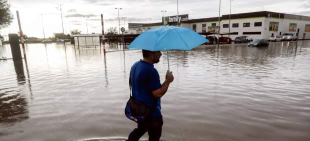 Las lluvias ponen en alerta este domingo a 13 provincias del sur y este peninsular