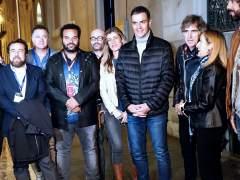 Pedro Sánchez acude junto a su esposa y Ana Pastor al concierto en el Congreso por la Constitución
