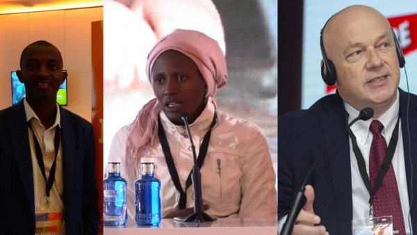 Frederick Gitonga, Rebecca Britus y Petr Jasek, afectados por el yihadismo