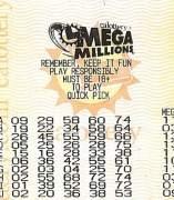 Boleto de Mega Millions