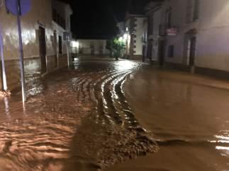 Inundaciones en Antequera