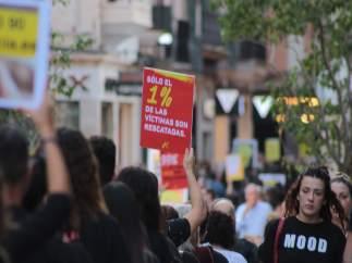 Caminata en contra de la esclavitud sexual en Palma