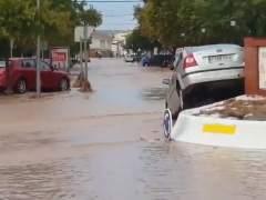 Lluvias torrenciales en Málaga: un bombero muerto, vecinos atrapados y cientos de incidencias