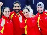 El equipo mixto español de curling hace historia