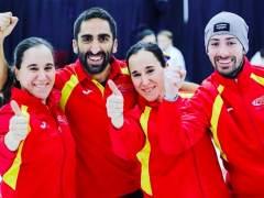 Histórica plata mundial del equipo mixto español de curling