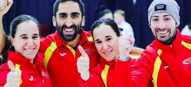 El equipo mixto español de curling conquista una plata histórica en el mundial de Canadá