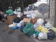 Basura en el barrio de La Vileta